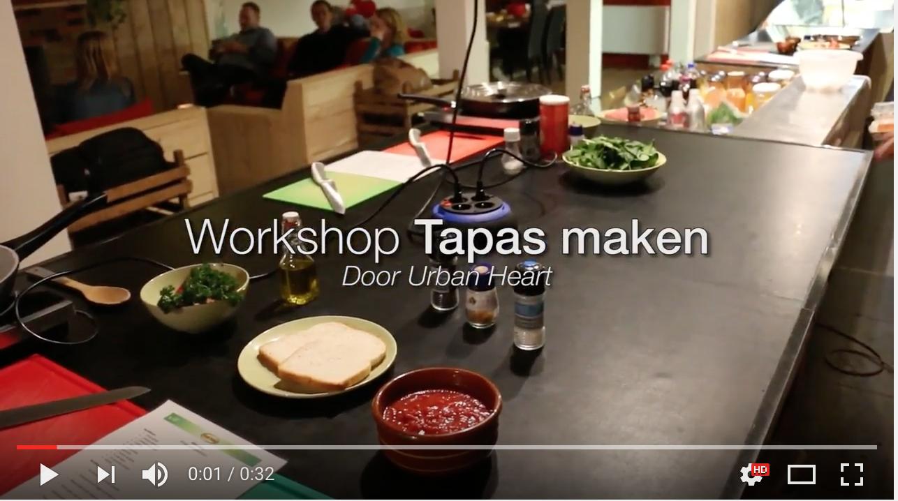 Tapas, workshop, Groningen