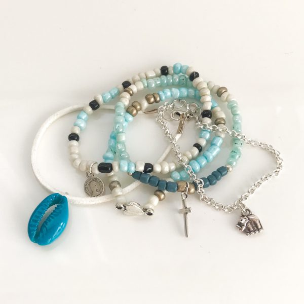 ibiza-armbandjes-zilver-blauw-diy-pakket