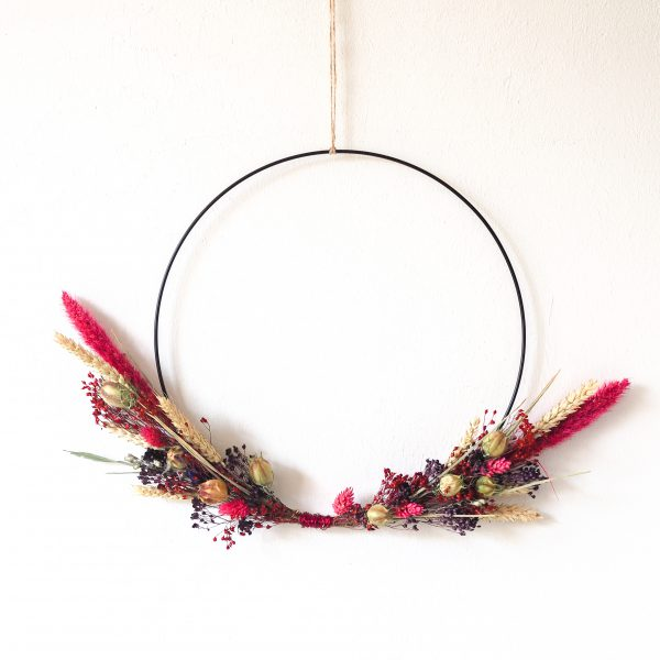 droogbloemenkrans-krans-droogbloemen-lovely-pink-urbanheart