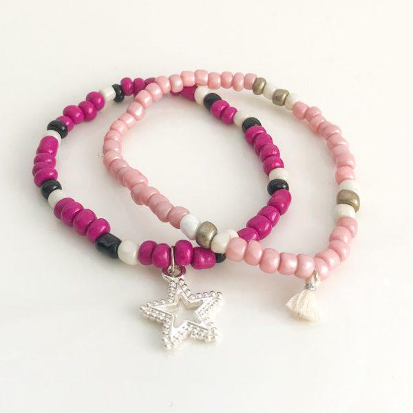 ibiza-armbandjes-zilver-roze-diy-pakket