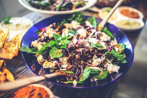 vegan-salad-healthy-diet-spinach-kookworkshop-salade-gezond-eten-samen-groningen-urbanheart