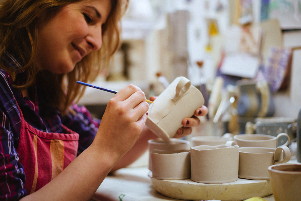 servies beschilderen-theepot schilderen-groningen-leeuwarden-assen-workshop-dokkum-noorderuitjes