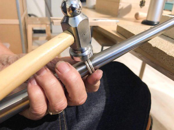 Zlveren-Gehamerde-ring-maken-workshop-groningen-urbanheart